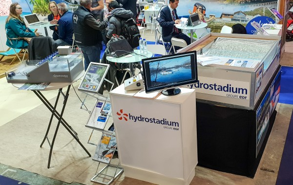 Hydrostadium était au Salon des maires à Paris